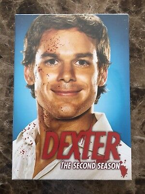 Dexter season 2 DVD, The Complete Second Season, 4 Disc Set,Factory Sealed,New