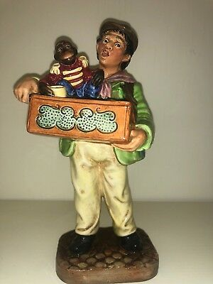 "Royal Doulton Figurine ""The Organ Grinder"" HN2173 PRISTINE 1955 No Reserve"