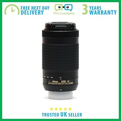 *Mint* Nikon Nikkor AF-P DX 70-300mm F/4.5-6.3 G ED VR White Box  - 3 Yr Wrty