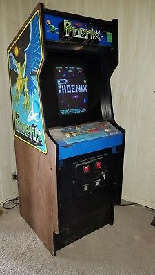 Original Phoenix coin op arcade game. Vintage classic machine. Works Great!