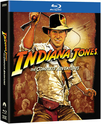 Indiana Jones: The Complete Adventures [5 Discs] (Blu-ray Used Very Good)