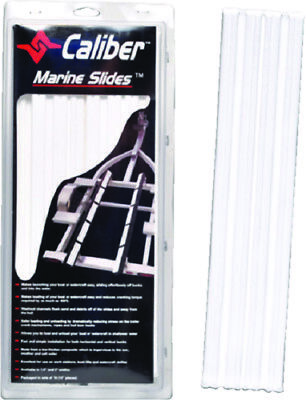 """Boat Marine Trailer BUnk Slide 1.5"""" X 15"""" White Pack of 10 Launch Launch Easy"""