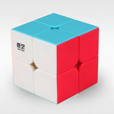 2x2 ABS Magic Cube Game Kids Puzzle Ultra-Smooth Twist Rubic's Rubiks Rubix Toys