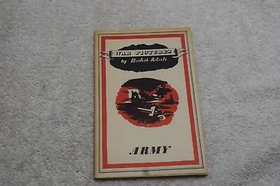 Vintage War Pictures By British Artists No. 4, Army, Oxford University, UK, 1942
