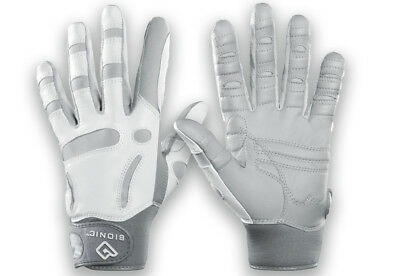 Bionic Women's ReliefGrip Golf Glove, Left, Silver, Large