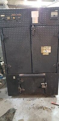 SMOKER BBQ MASTER CONVECTION OVEN Model 250 RFS Barbecue Pit #1581