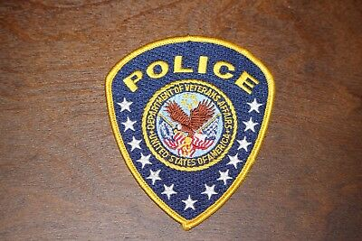 Department of Veterans Affairs Police Department Patch