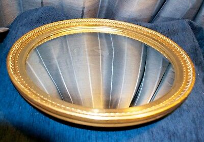 Vintage Atsonea Fish Eye Mirror Gilt Frame 1950's Convex Mirror Excellent Cond