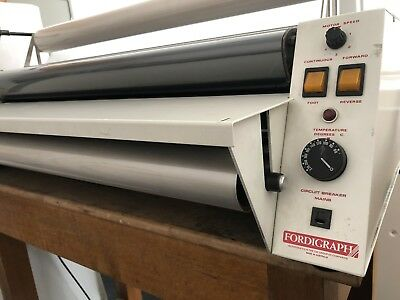 Fordigraph Roll Thermal Laminator Large 800mm A1
