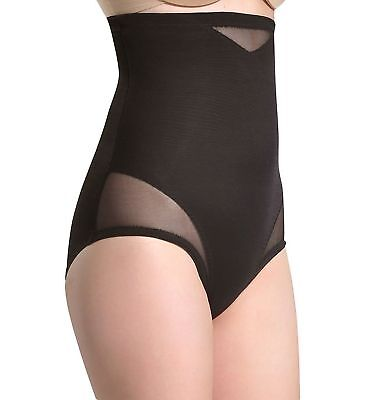 248cf4345861e Miraclesuit Shapewear Women s Extra Firm Sexy Sheer Shaping Hi-Waist Brief  Bl..