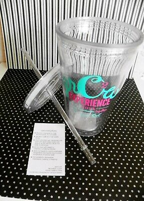 Origami Owl Clear Tumbler w/Straw Event Logo Convention Phoenix