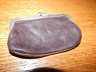 Vintage Western Leather Small Change Purse