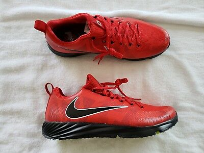 Nike Vapor Speed Ohio State Buckeyes Size 13 Turf Trainer Shoes Red  924776-601