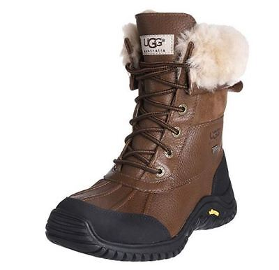 f73573030ff UGG ADIRONDACK II Obsidian Brown Waterproof Leather Snow Boots Size ...