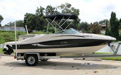 2009 Sea Ray 185 Sport 80hrs Aluminum Trailer