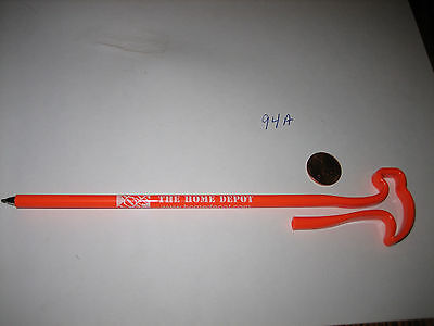 Old The Home Depot Hammer Shaped Employee Pen