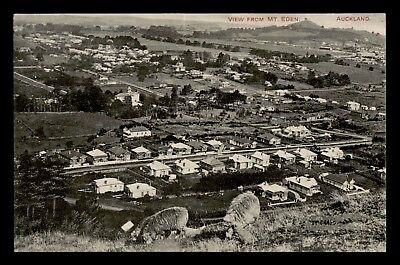Dr Who 1913 New Zealand Auckland View From Mt. Eden Postcard C59708