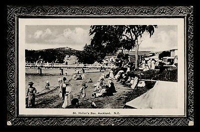 Dr Who New Zealand Auckland St. Helier's Bay Postcard C59714