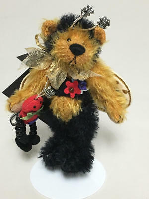"ARTIST DEB CANHAM 2002 6th ISSUE DCAD CLUB TEDDY BEAR ""BUMBLE"""