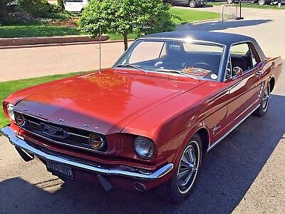 1966 Ford Mustang  1966 Ford Mustang Coupe- ONE FAMILY OWNED - - Automatic - All Matching #'s