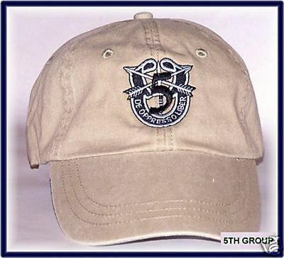 Army Airborne Green Beret Special Forces Operations 5Th Group Spec Ops Cap Hat