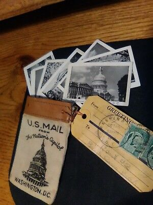 1942 Us Mail Send A Souvenior From Washington