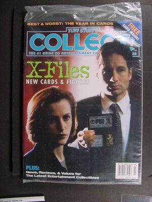 X-FILES COVER COLLECT MAGAZINE JULY 1998 Poly-Bagged, unread copy