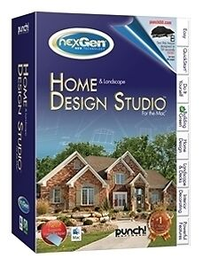 Punch Home and Landscape Design Studio V2  (Mac, 2010) *new, Sealed*
