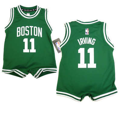 pretty nice 6b6bc bd0e1 KYRIE IRVING BABY Boston Celtics One-Piece Uniform Jersey Romper FREE  SHIPPING