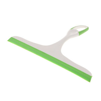 Squeegee Scraper Cleaner For Windows Showers Car Glass and Countertop Green