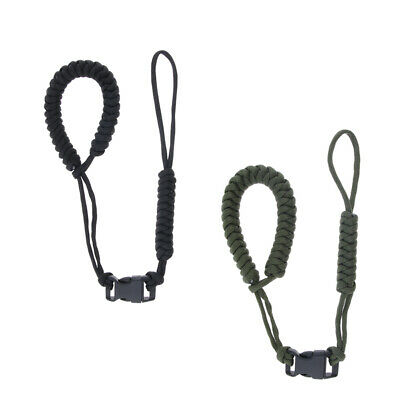 2pcs Adjustable Camera Wrist Strap Braided Paracord Strong Weave Lanyard
