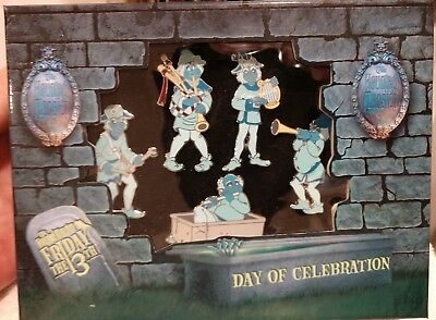 Haunted Mansion 5 Pin Set Friday 13th Ghostly Quintet Box Set from 2008