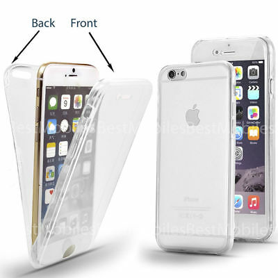 iPhone X XS Case Shock Proof Crystal Clear Soft Silicone Gel Bumper Cover Slim