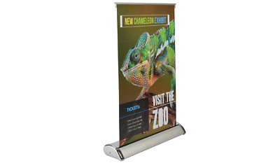 "Table Top Banner Stand 11.5""x17.5"" - Free Design - Quick Turnaround"