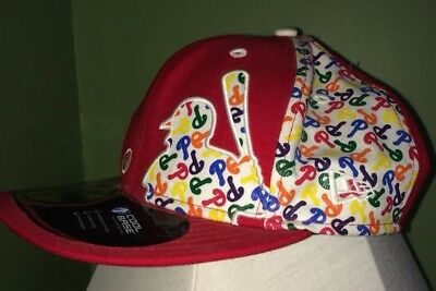 "9efad33becbc8 59Fifty Philadelphia PHILLIES baseball Cap Fitted Hat New Era 7 1 8""  Colorful"
