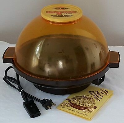 Vintage West Bend Butter-Matic Ii 4-Qt. Electric Automatic Popcorn Corn Popper
