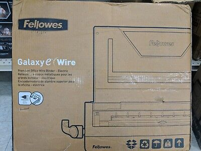Fellowes Galaxy E Electric Wire Binding Machine - 5217801