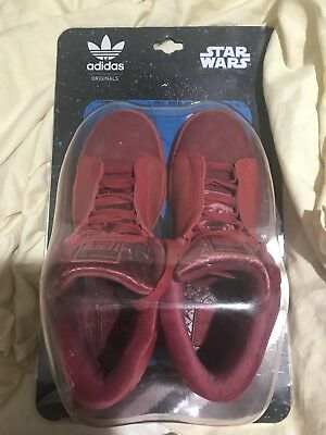 purchase cheap 71ab4 07498 adidas shoes men size 9 Star Wars Imperial Guard  Box In Rough Shape   Worn