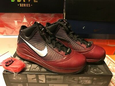 682db52a3f4bf NIB Nike Air Max LeBron 7 VII Christmas 375664-600 Size 11 Lakers