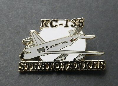 Stratotanker Kc-135 Refueling Aircraft Lapel Pin Badge 1.5 Inches Usaf Air Force