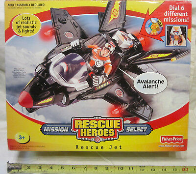 Rescue Heroes Mission Select - Rescue Jet