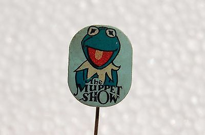 The Muppet Show / The Muppets / Kermit The Frog / vintage pin badge lapel