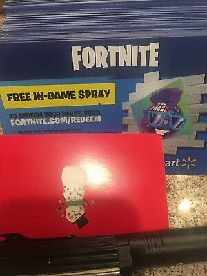 FORTNITE EXCLUSIVE WALMART Spray Code Sale Purple Disco Ball TWO CODES!!  Emailed
