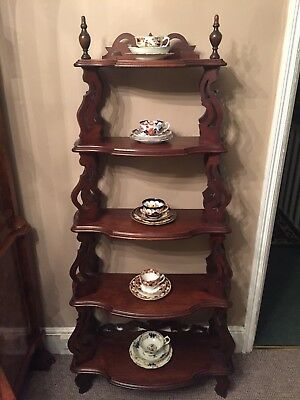 Antique Victorian Bookcase Beautiful Condition