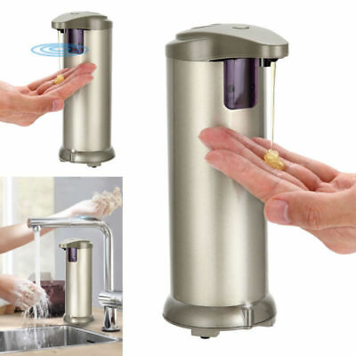 Touchless Stainless Steel Automatic IR Sensor Handsfree Soap Liquid Dispenser