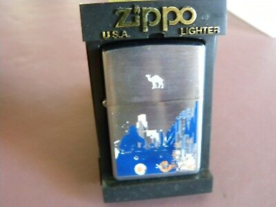 """Zippo 2005 RARE Camel """"Pulse"""" Double Sided Art Print - Limited Edition"""