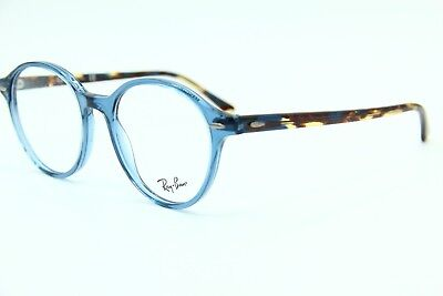 025fabfa958 New Ray-Ban Rb 7118 8022 Blue Authentic Eyeglasses Rb7118 Frame Rx 50-19