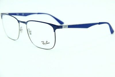 937df529303 Ray-Ban Rb 6363 2889 Blue Authentic Eyeglasses Rb6363 Frame Rx 54-18