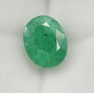 7.55 Ct Natural Emerald Vivid Green Oval Cut Panna Gemstone Ggl Certified
