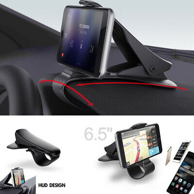 Universal Car HUD Dashboard Mount Holder Stand Bracket For Cell Mobile Phone GPS